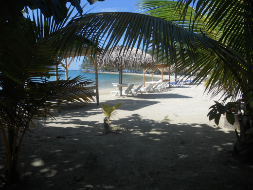Roatan, Honduras - Private Hotel Beach