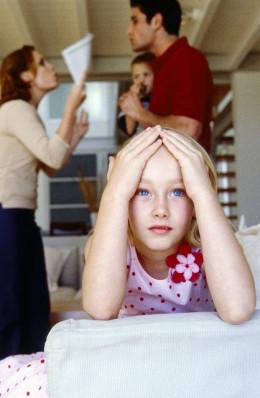 Negative effects of divorce