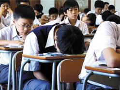 How to avoid sleeping in classroom