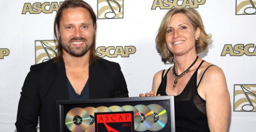 Max Martin has received this prestigious award for the past 3 years, making it the sixth time in his career.  He wrote/co-wrote 7 of the most played songs of 2012.