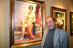 Famous Paintings of Pino Daeni