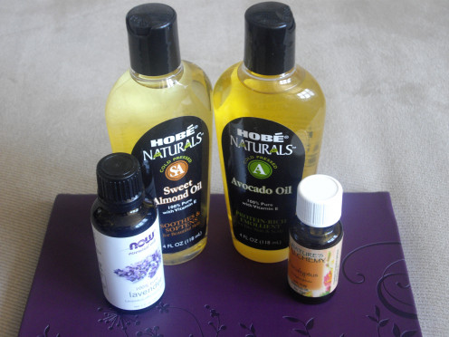 Aromatherapy and base oils are a few ingredients that can be used to make spa treatments for a lucky woman. See the links below for more information