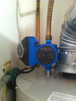 Instant Hot Water - Cheap - Recirculating Pump