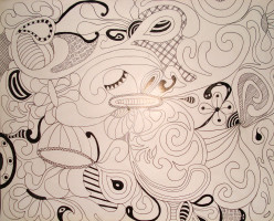 Drawing: Freehand Doodling is fun