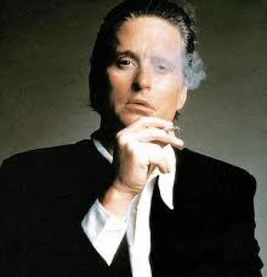 Fictional sociopaths include: (1) Gordon Gekko, ruthlessly cutthroad Wall Street executive.