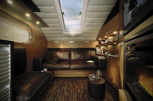 Modern RVs are very comfortable!