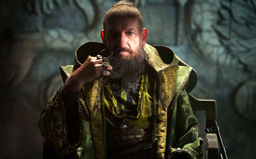 Ben Kingsley turns in a captivating and surprising performance as The Mandarin.