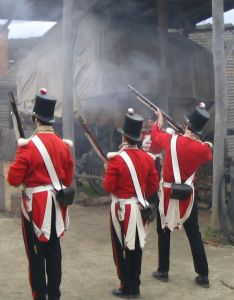English soldiers