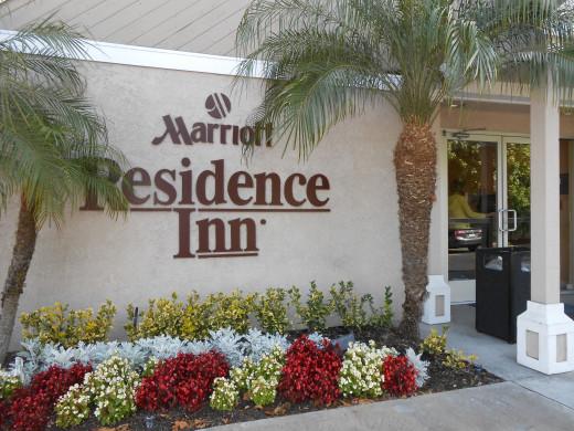 Marriott Residence Inn (front entrance)
