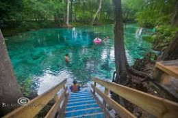 Ginnie Springs Divers Entrance