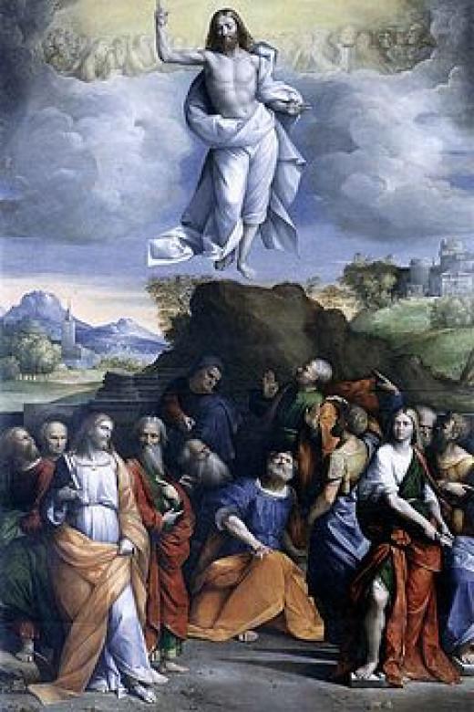 """The Ascension of Christ"" - Garofalo 1520"
