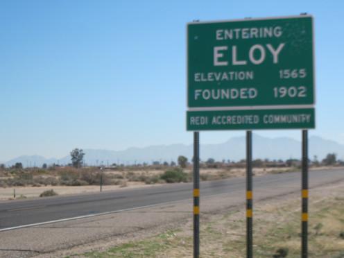 Welcome to Eloy Arizona!