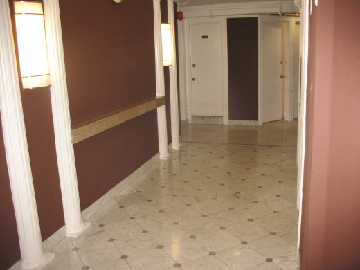 9th floor Elevator Hallway