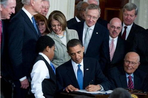 Millions of Americans will be eligible for tax credits under the Affordable Care Act signed by President Obama on March 22, 2010.