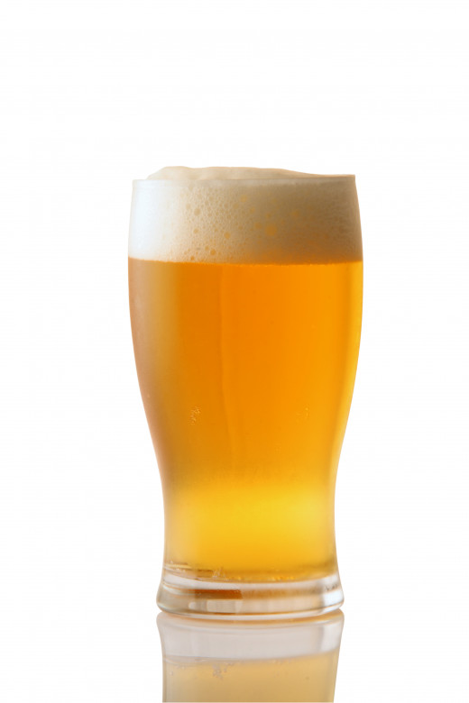 This is a familiar color for any pale ale style.