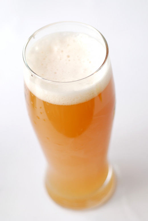 If your pale ale is hazy like this, it is unfiltered.