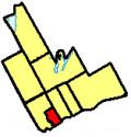 Map location of Ajax, Durham Region, Ontario