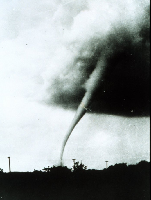 Tornado in Manhattan, Kansas, May 31,1949
