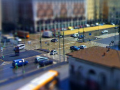 Fake Miniatures with Tilt Shift Lens