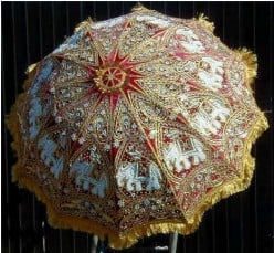 Design and Location for Wedding Umbrella