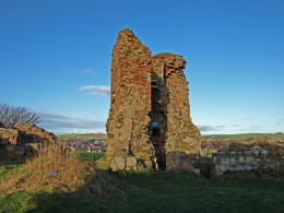 Not much left of Ardrossan castle these days but it has a long and bloody History.