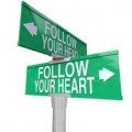 should we follow our head or our heart?