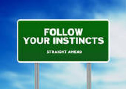 follow your instincts and you will rarely go wrong