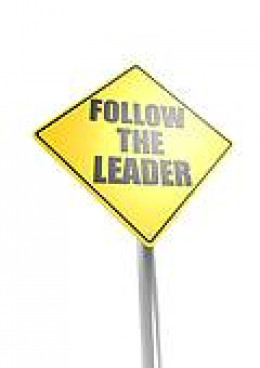 Most of us simply follow the leader without much ambition, or desire,  to go around them.
