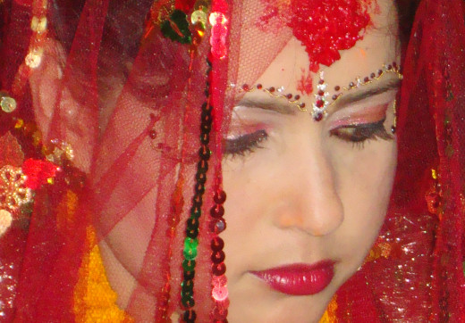 A Nepali Bride by Vinaya