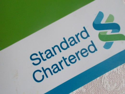 Standard Chartered Bank Logo by the author