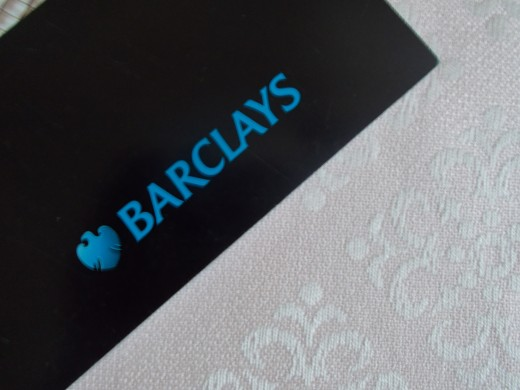 Barclays Bank Logo by the author
