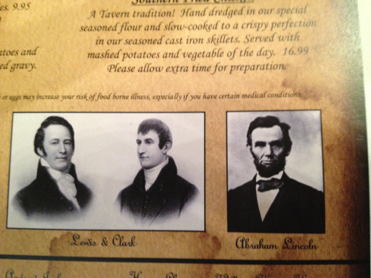 LOUIS & CLARK and ABRAHAM LINCOLN
