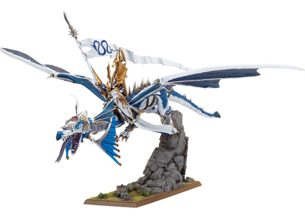 High Elf Lord on Dragon by Games Workshop