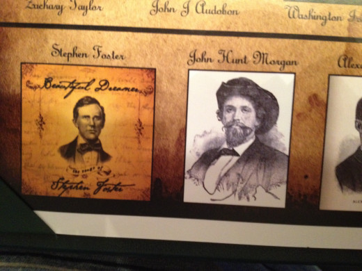 STEPHEN FOSTER and JOHN HUNT MORGAN