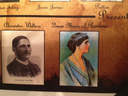 ALEXANDER WALTERS and QUEEN MARIE OF ROMANIA