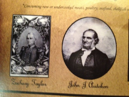 ZACHARY TAYLOR and JOHN J. AUDOBON