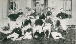 The Royal Arsenal squad of 1888.