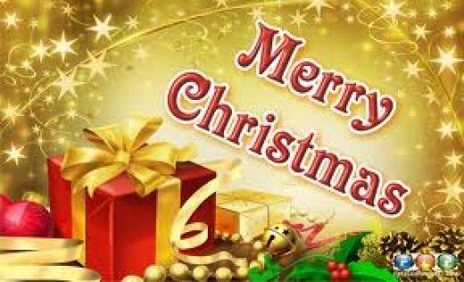 It is believed that Christmas has replaced the ancient feast of the Romans Saturnalia, which was a feast of plenty, so plenty of presents would be the rule for a Merry Christmas