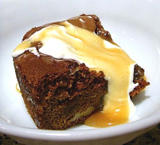 Lovely sticky date pudding is easy to make and reliable as very little can go wrong