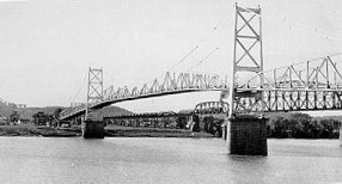 The Silver Bridge collapsed on December 15, 1967.  The official explanation cited structural design flaws, but some believe a mysterious creature known as the Mothman brought about its destruction.