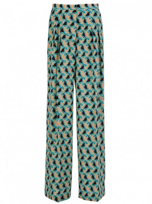 Patterned Trousers by Etro of London.