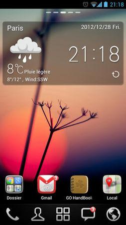 go launcher screenshot