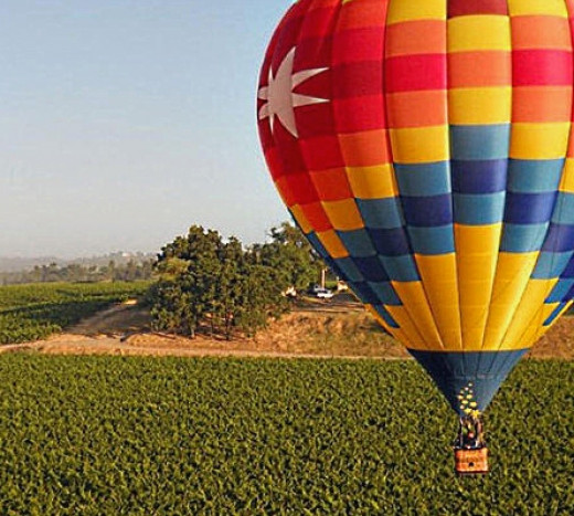 Tour the Yarra Valley Wineries in Victoria and the Hunter Valley Wineries in New South Wales by Balloon