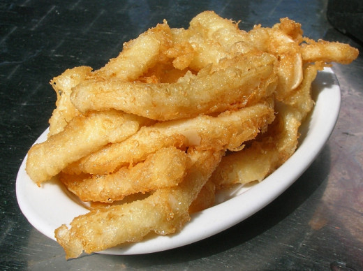 Delightful Salt and Pepper Squid cooked to perfection at home