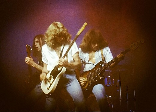 Status Quo (photographed in 1978)
