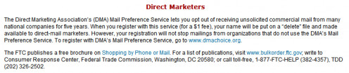 Figure 4. Direct Marketers