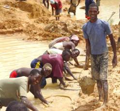 Diamond miners