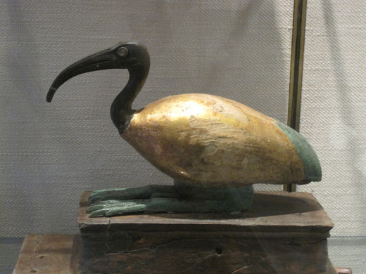 The Ibis Messenger of Thoth