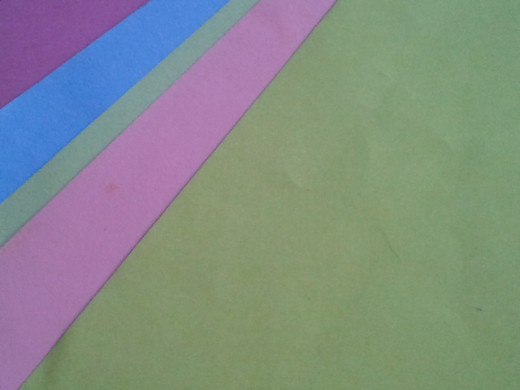 colorful cardstock