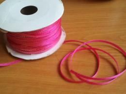 fuchsia ribbon